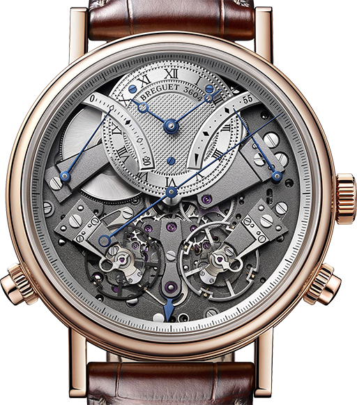 Breguet                                     Tradition.7077 Independent Chronograph