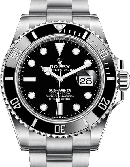 Rolex                                     SubmarinerDate 41 mm Steel