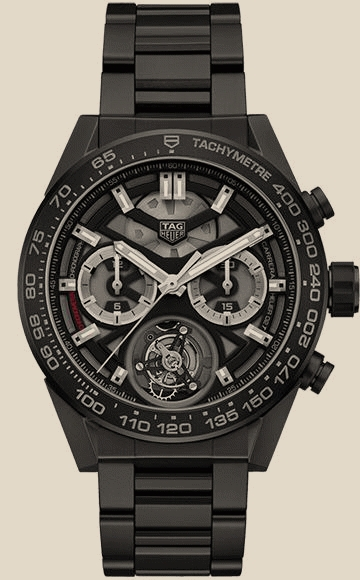 Tag Heuer                                     CarreraCalibre Heuer 02T 45 mm