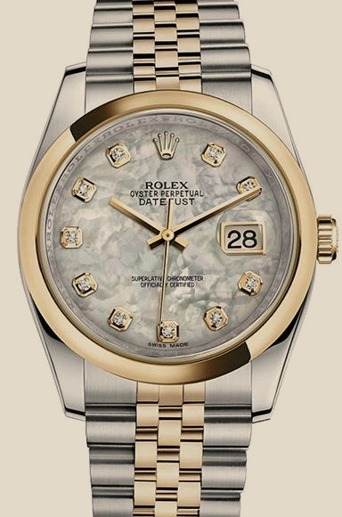 ROLEX Datejust Steel and Yellow Gold