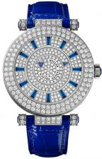 Franck Muller / Double Mystery / 42 DM D2R CD Blue Croco