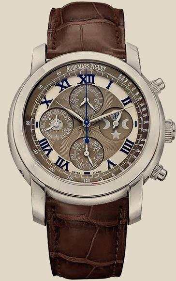Audemars Piguet                                     Jules AudemarsArnold All Stars Perpetual Calendar Chronograph