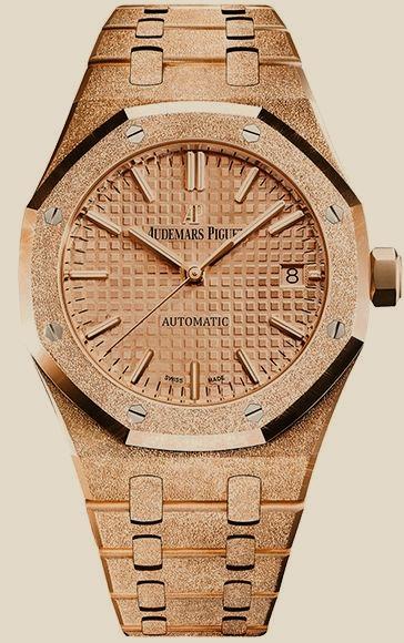 Audemars Piguet                                     Royal OakFrosted Gold 37mm