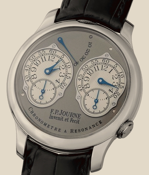 FP Journe - Chronometre a Resonance Pt-BlCroco