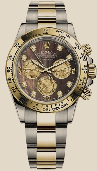 Rolex                                     DaytonaCOSMOGRAPH 40 MM, OYSTERSTEEL AND YELLOW GOLD