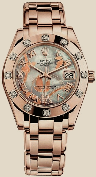 Rolex                                     PerpetualPEARLMASTER 34