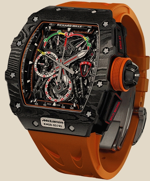 Richard Mille                                     Watches McLAREN F1