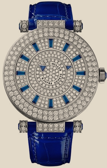 Franck Muller - 42 DM D2R CD Blue Croco
