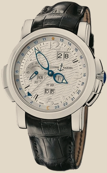 Ulysse Nardin                                     Dual TimeLimited Edition GMT +/- Perpetual 42mm