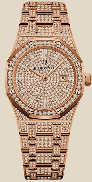 Audemars Piguet                                     Royal OakQuartz Gold