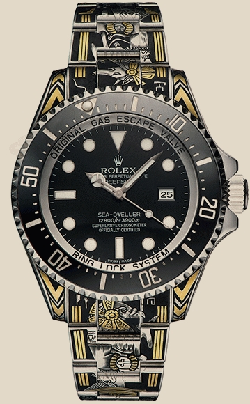 Rolex                                     SEA-DWELLER custom faraon